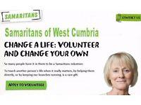 Samaritans of West Cumbria - Volunteer Opportunities