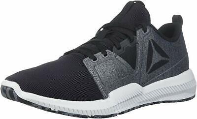 Reebok Mens Hydrorush Tr Sneaker Black/Alloy/Skull Grey