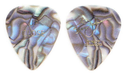 Eric Johnson Signature Abalone Mother of Pearl Guitar Pick - 2010 Up Close Tour