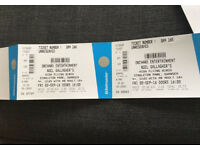 Noel Gallagher tickets Swansea 2 September