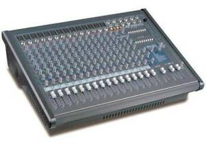 18 channel powered mixer