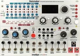 Intellijel Rainmaker 16 tap stereo Delay filter EURORACK module synth doepfer