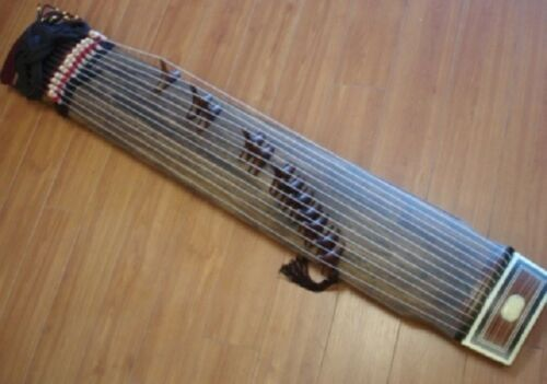 12-String Kayagum, Gayageum, Korean Zither Musical Instrument