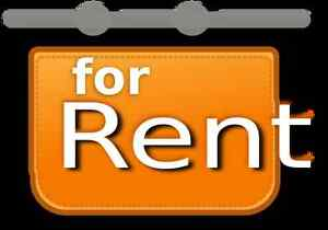 Main level house for rent in triplex