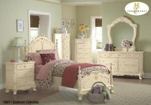 Cinderella Dresser  , Nite Stand and Single Bed