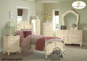 Cinderella Dresser  , Nite Stand and Single Bed