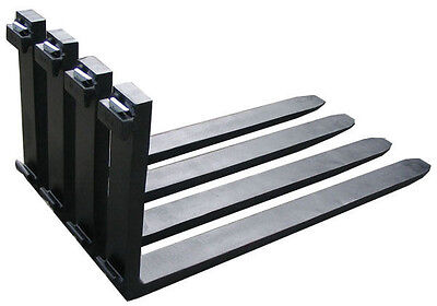 New Forklift Forks 6 Ft 1 Set Of 72 X 5 Class 2 Standard Forks Free Shipping