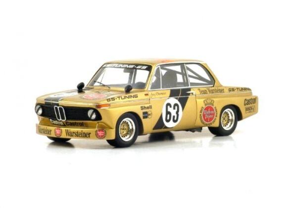 BMW 2002 No.63 Winner Div. II DRM Norisring 1975 (Jörg Obermoser)
