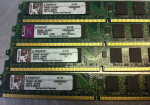 2GB DDR2 800 KINGSTON MEMORY FOR PC $17.50 West Island Greater Montréal image 8