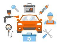 Car Mechanical repair / Service / Tyres / Dents repair / Spray