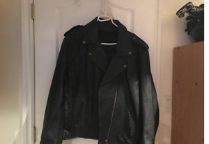 XXL Women Leather Motorcycle Jacket, Liner & Pads