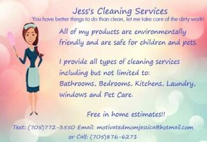 Jess's Cleaning Services