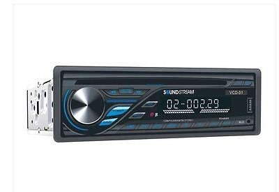 SoundStream VCD-31 Single DIN Car Stereo Receiver w/ CD FM Aux Input & USB