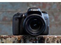 Canon EOS 77D Digital SLR with 18-135mm USM Lens
