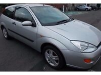Ford Focus 2001,3dr Lovely clean car for its age ,5 Months Mot and taxed to get you home