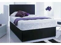 Divan bed with memorey foam matress
