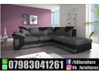 **25% off**BRAND NEW JUMBO CORD DlNO 3 And 2 seater corner sofa