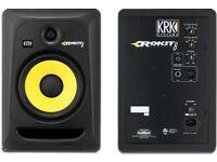 KRK Rokit 4 G3 Active Studio Monitor in Black (Pair)
