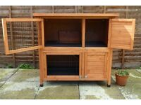 New Two Tier Rabbit Hutch | Double Rabbit Hutch | Rabbit Hutch | Guinea Pig Hutch