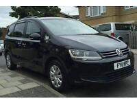 2011 VW Sharan 2.0d Blue Motion, Automatic MPV 1 Year PCO UBER XL Ready