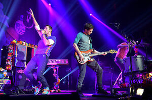 COLDPLAY - EXCELLENT FLOOR TICKETS - SECTION A11 - TOR - AUG 21