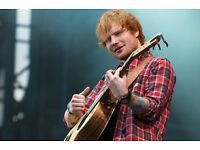 2 x Ed Sheeran standing tickets Glasgow Hydro Sunday 16/4/17