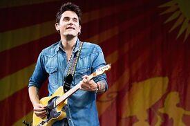 John Mayer - 2 tickets - London 11th May - BK 407, row B