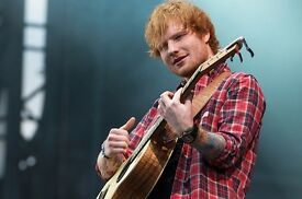 1 Ed Sheeran ticket @ the Metro Radio Arena in Newcastle Upon Thyne