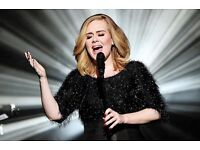2 Adele seated tickets- BLOCK 226 or BLOCK 502 CENTRE STAGE- Club Wembley