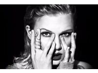 Taylor Swift x 2 Friday night sold out gig, excellent seats - proper paper tickets £120 each