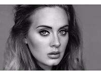 ADELE. SEATING TICKETS X 2 for £90 EACH. Wednesday 28/06/2017
