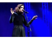 Selling two standing tickets for Jessie Ware concert / London March 29th