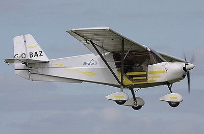 Best Off Skyranger 912 French Ultralight Aircraft Desktop Wood Model