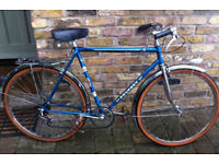 French vintage city bike PEUGEOT frame size 22inch - 5 speed, serviced WARRANTY !! XMAS GIFT !!