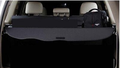 Rear Trunk Shade Cargo Cover for 2010-2016 Toyota Land Cruiser Black Prado FJ150