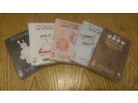 5 x Dirty Sanchez DVDs (NEW & SEALED)