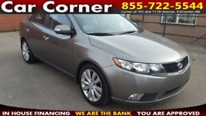 2010 Kia Forte SX FULLY LOADED SX