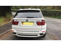 BMW X5 bumper boot lights exhaust tips 2012
