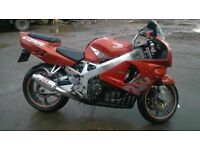 HONDA FIREBLADE NEAR MINT CONDITION PRIVATE PLATE MUST SEE