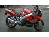 honda fireblade 918rrv private plate low mileage swap px why
