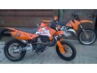 SINNIS APACHE 125/150-180?? MOTORBIKE KTM LOOKALIKE 2013 63REG SUPERMOTO 4stroke 85MPH