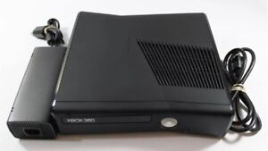 Xbox 360 Slim console with power Supply and Cable