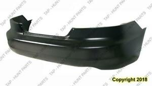 Bumper Rear Primed 6-Cylinder Coupe Honda Accord 2003-2005