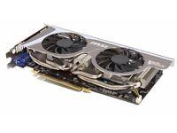 NVidia GTX 560Ti (MSI Twin Frozr ll) 1GB graphics card