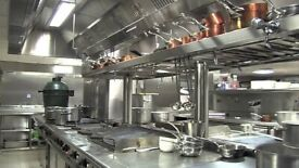 Fully equipped catering kitchen to let