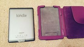 Kindle and Case