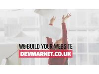 Custom built website from £350 - Professional web design agency