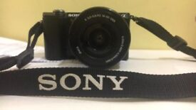 Sony Alpha Attachable lens Digital camera