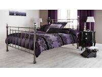 Double bed Krystal bed frame