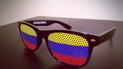 COLOMBIA FLAG SUNGLASSES WORLD CUP SOCCER FOOTBALL SPORTS FRAMES - Soccer Frames